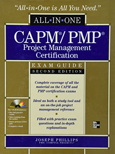 CAPM/PMP Project Management Certifcation All-in-one Exam Gui por Phillips