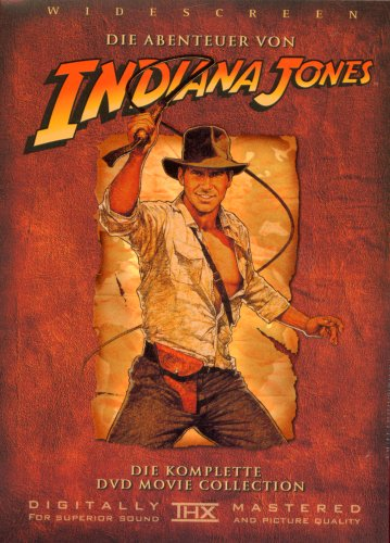 Indiana Jones – Box Set (4 DVDs)