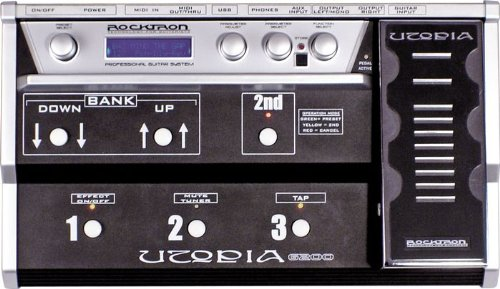 Rocktron Utopia G200Multieffektgerät 128Presets USB MIDI 3sélecteurs