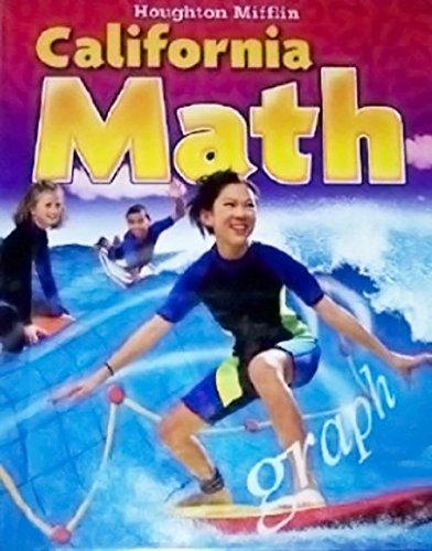 Houghton Mifflin California Math Level 6 Lee Basic Jean