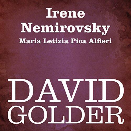 David Golder  Audiolibri
