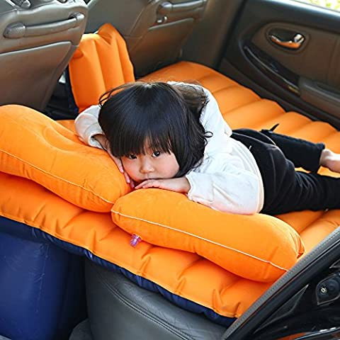 Coche dormitorio cama de aire cojín móvil Viajes inflación asiento posterior más grueso colchón extendido13 con un conjunto completo de