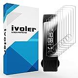iVoler [8 Stück] Schutzfolie Bildschirmschutzfolie für Huawei Honor Band 3, 3D Vollständige Abdeckung [Wet Applied] [Anti-Kratz] [Blasenfrei] HD TPU Weich Folie