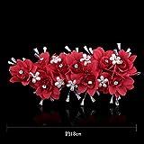 KPHY-La Mode D'Artisanat De Perles De Perles Mariée des Cheveux des Femmes des Fleurs Fraîches du Tissu des CheveuxB