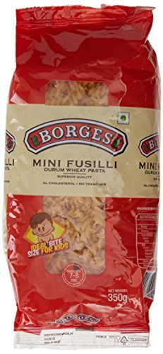 Borges Mini Fusilli Durum Wheat Pasta, 350g