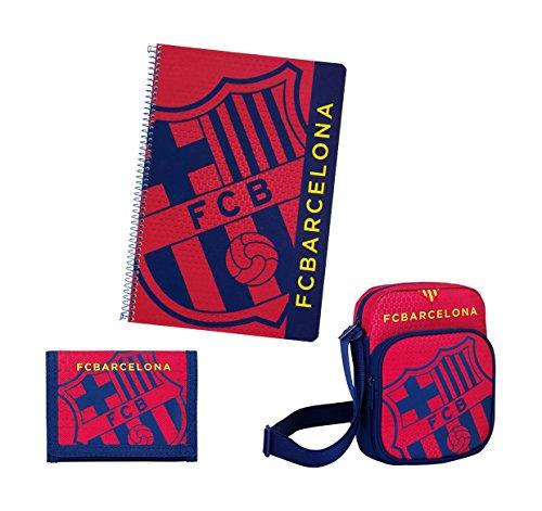 FC Barcelona–Set Geschenk klein, Blau/Granit (Safta 311572588) (Barcelona-geschenk-set)