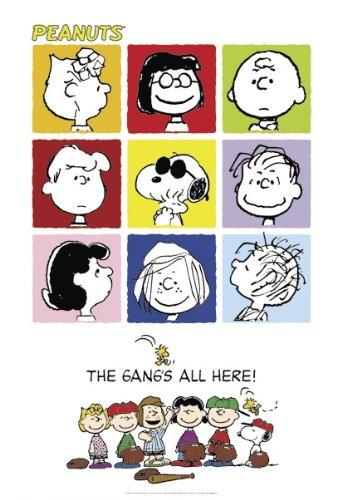 Close Up Peanuts Poster - Poster Großformat (68,5cm x 101,5cm)