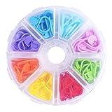 ULTNICE 104pcs maglia marcatori chiusura contatori Stitch Crochet per fai da te maglia sciarpa con casella griglia