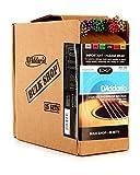 D\'Addario Cordes en bronze phosphoreux pour guitare acoustique avec revêtement D\'Addario EXP16, Light, 12-53, 25 jeux