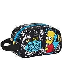 Safta The Simpsons Neceser, Color Negro
