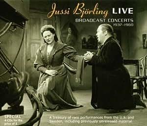 Jussi Bjorling Live: Broadcast Concerts 1937-1960