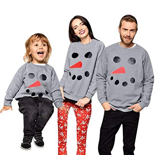 Xinantime Weihnachten Urlaub Familie Passenden Pyjama Set Zwei Stücke Langarm Santa Deer Baumwolle Tops und Hosen Casual Homewear Kleidung Set