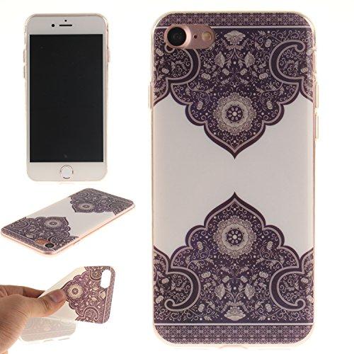 iphone 7 Plus Case Cover,YuDan Telaio in TPU flessibile ultrasottili paraurti in gomma guscio protettivo morbido gel per Apple iphone 7 Plus - DX8 DX10