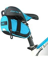 MMRM Cyclisme en Plein Air Vtt Sacs de Vélo Sac de Selle Pochettes pour Siège Arrière - Bleu