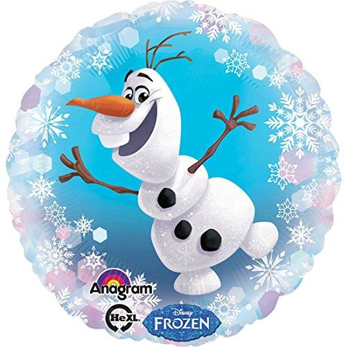 erdbeerloft - Dekoration Frozen Ballon Eiskönigin Olaf, Mehrfarbig (Singen Und Olaf Tanzen)