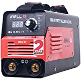iBELL Inverter ARC Welding Machine (IGBT) 200A with Hot Start and Anti-Stick Functions - 1 Year Warranty