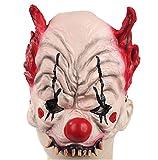 Redhorn Clown Halloween Party Masque pour fête costumée Cosplay masque