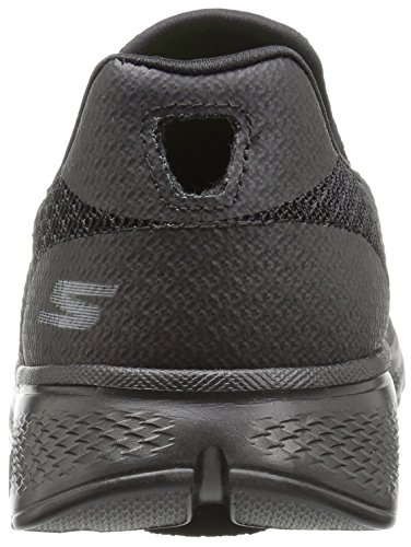 Skechers Go Walk 4, Baskets Basses Homme Noir (Bbk)
