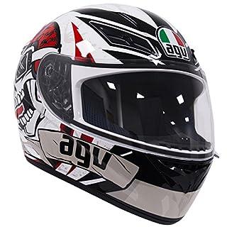 AGV K3 Rider To The Bone Mehrfarben Motorrad Helm