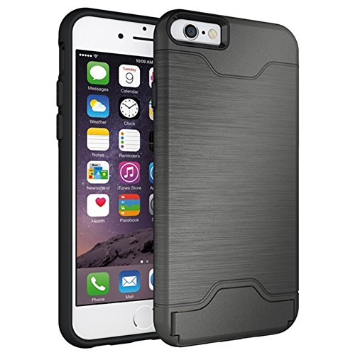 "Coque Smartphone Apple iPhone 6/6s 4.7"", KATUMO® Coque Silicone pour iPhone 6s Housse de Protection Gel Case-Or Gris"