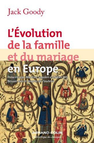 L'évolution de la famille et du mariage en Eu...