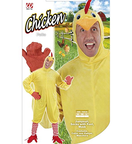 Imagen de widmann  disfraz de pollo, talla l alternativa