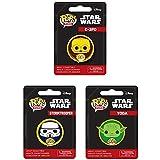 Funko Pop! Pin Star Wars Set Of 3 Yoda, ...