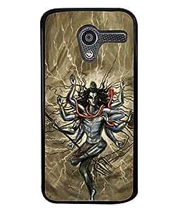 PrintVisa Lord Shiv Mahadeva In Rudra Avatar Animated High Gloss Designer Back Case Cover for Motorola Moto X :: Motorola Moto X (1st Gen) XT1052 XT1058 XT1053 XT1056 XT1060 XT1055