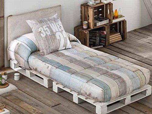 LaNovenaNube - Edredón Ajustable INFINITY cama 80/90