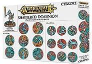 Games Workshop 99120299033 Aos Shattered Dominion - Tavolo e gioco in miniatura, 25-32 mm