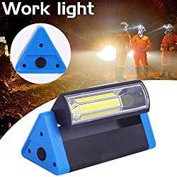 Dreameryoly Job Site Spotlights-Work Light Strong Magnet Camping Lamp with Hook 180 Degrees Rotating Emergency Lighting Lamp