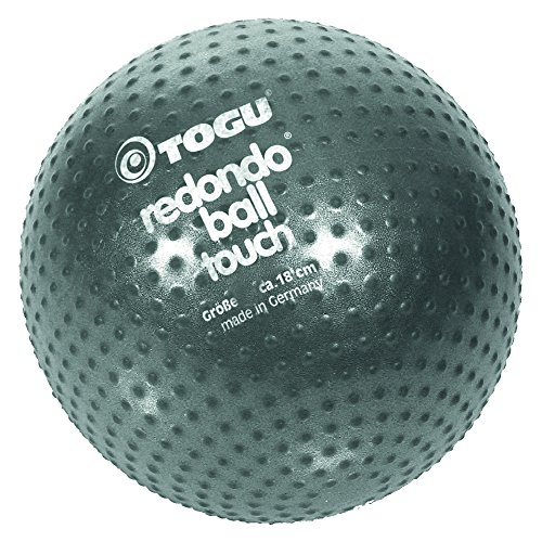 TOGU Gymnastik Pilatesball Redondo Ball Touch, anthrazit, 493000