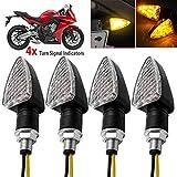 Wiz–4pcs 12V 15LED moto moto indicatori di direzione luce frecce