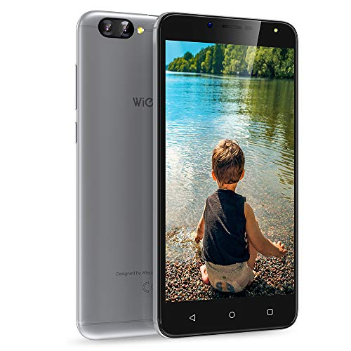 "Dual Sim Smartphone ohne vertrag 3G, 1GB+8GB, Android 7.0 Handy 5,5 Zoll, 8MP+5MP Kamera, HD 1280 * 720 Bildschirm, Akku 2970mAh, Wieppo S6 lite Günstige Smartphone GPS OTG WIFI (3G 5.5"" 1G+8G Silber)"