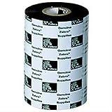 Zebra Media 2300WAX RIBBON, 12PCS–Band Signs (12PCS, Wärmeübertragung, Printers, Schwarz, 74M, 110mm, 12Stück (S))