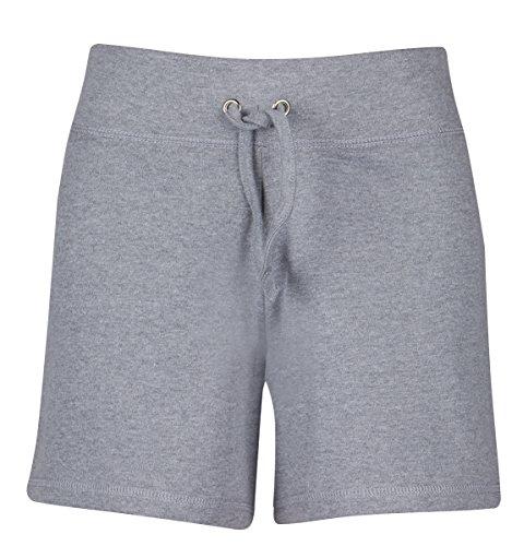 Étiquette LOVE YOUR Outofgas Clothing Short de plage en coton-Fille-Pantalon chaud Summer Holiday Gris - Gris