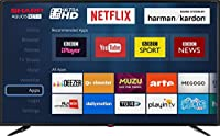 Sharp 4K Ultra HD Smart TV with Freeview HD (2018 model)