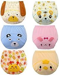 JT-Amigo Lot de 6 culottes d'apprentissage Bébé