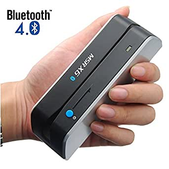 Bluetooth MSR-X6(BT) MSRX6BT Magnetic Stripe Card Reader Writer Encoder Mini Portable Smallest MSR206 MSR605 MSR606