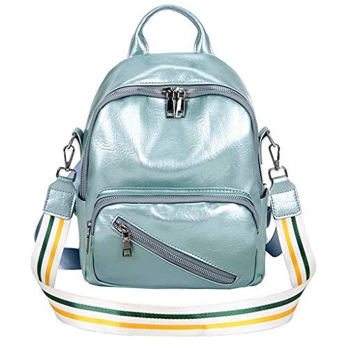 friendGG Neue Mode Damen Einfarbig UmhäNgetasche Rucksack SchüLer Schule Reisetasche UmhäNgetaschen Schultertaschen Rucksack Taschen Handtaschen Tasche