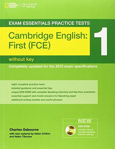 Exam Essentials Cambridge First Practice Test 1 (Exam Essentials: Cambridge First Practice Tests) by Helen Chilton (24-Mar-2014) Paperback