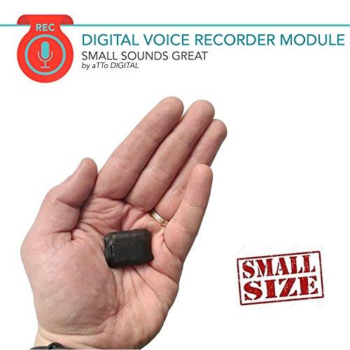 La grabadora espía 8GB-SAM-08B es un módulo súper pequeño y profesional de grabación, el cual ofrece discreción y puede proporcionar un SONIDO NÍTIDO EN HD para monitorear todo lo que se discute dentro de su radio (hasta 20 metros). El 8GB-SAM-08B es...
