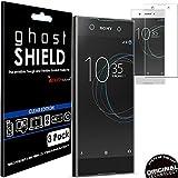 Techgear Ghostshield Displayschutzfolie für Sony Xperia XA1, verstärkter TPU-Bildschirmschutz mit gebogenen Ecken, 3er