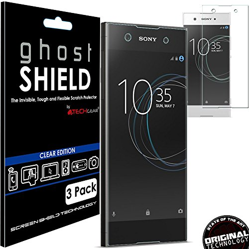 pack-of-3-techgearr-sony-xperia-xa1-ghostshield-edition-genuine-reinforced-tpu-screen-protector-guar
