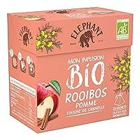 Elephant - The Rooibos Pomme Cannelle 40G - Prix Unitaire - Livraison Gratuit En France Métropolitaine Sous 3 Jours Ouverts
