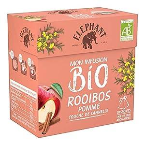 Elephant - The Rooibos Pomme Cannelle 40G - Lot De 4 - Livraison Rapide en France - Prix Par Lot