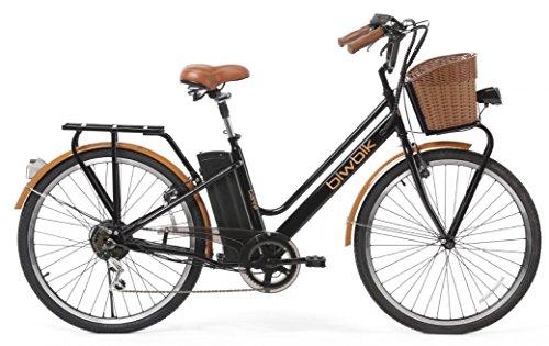 Vélo électrique Biwbik mod. Gante Batterie Lithium Ion 36V 12Ah (NOIR)
