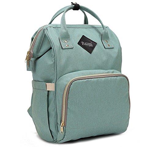 Fashion Mama Still Wickeltasche Marke Modell A3102, großer Kapazität Baby Bag Travel Rucksack Designer Tasche für Baby Care (Designer-handtaschen Verkauf)