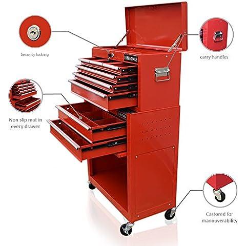 US PRO TOOLS Rosso conveniente scatola degli
