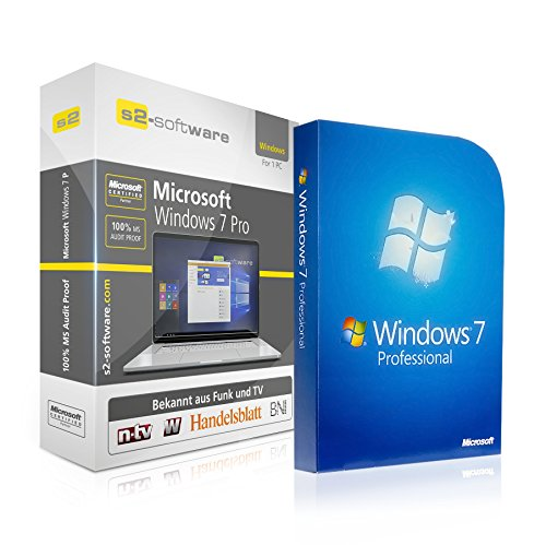 Windows Pro 7 64-bit-schlüssel (Microsoft® Windows 7 Professional (PRO). ISO CD / DVD. 32 bit & 64 bit. Deutsch. Original Lizenz.)